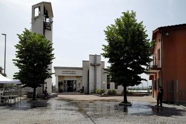 Sant'Alessio - Case rosse