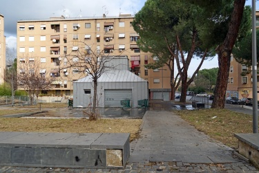 Piazza in Via Girolamo Mechelli - San Basilio Nuovo