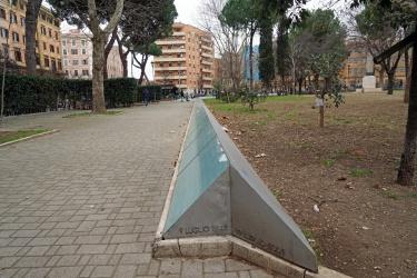 Piazza del Parco Caduti del 19 Luglio 1943 - San Lorenzo
