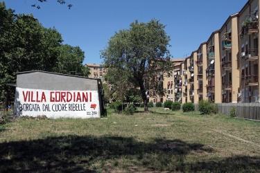 Largo delle Terme Gordiane - Borgata Gordiani