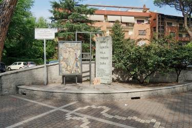 Piazza Giuliani e Dalmati - Quartiere Giuliano-Dalmata