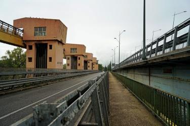 Il ponte di Castel Giubileo: dove il GRA attraversa il fiume a Nord