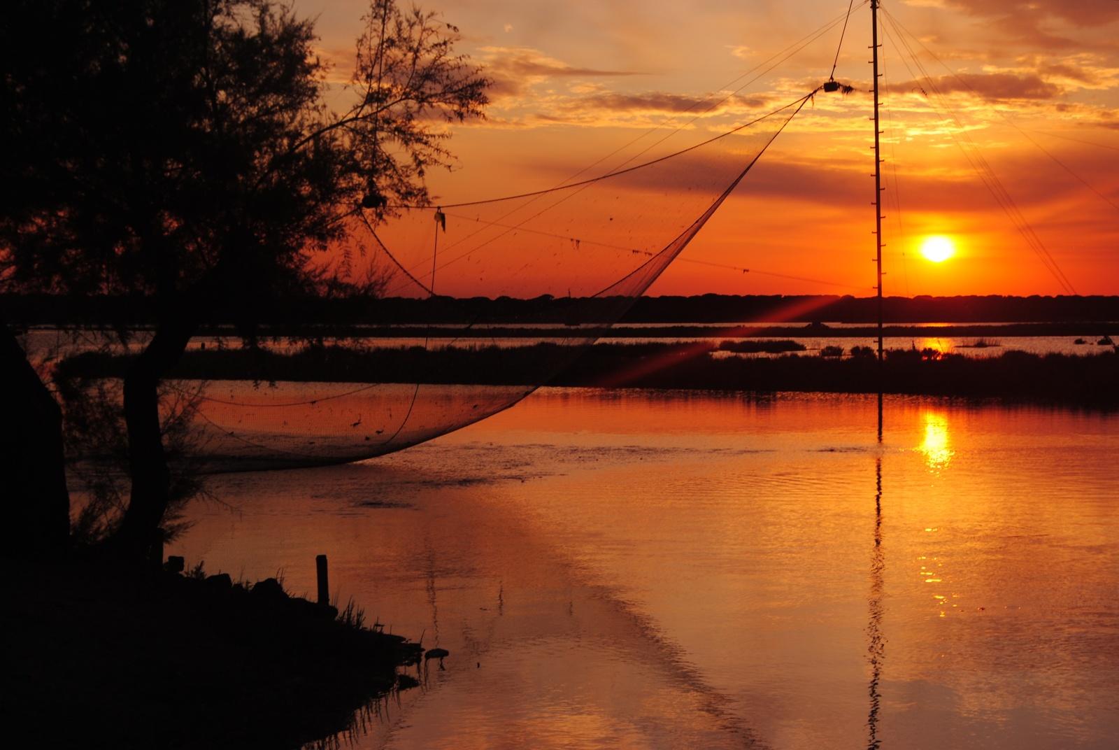 Pesca e Tramonto - Piallassa Story - Piallassa Baiona